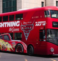 full wrap cars the movie bus london bus advertising