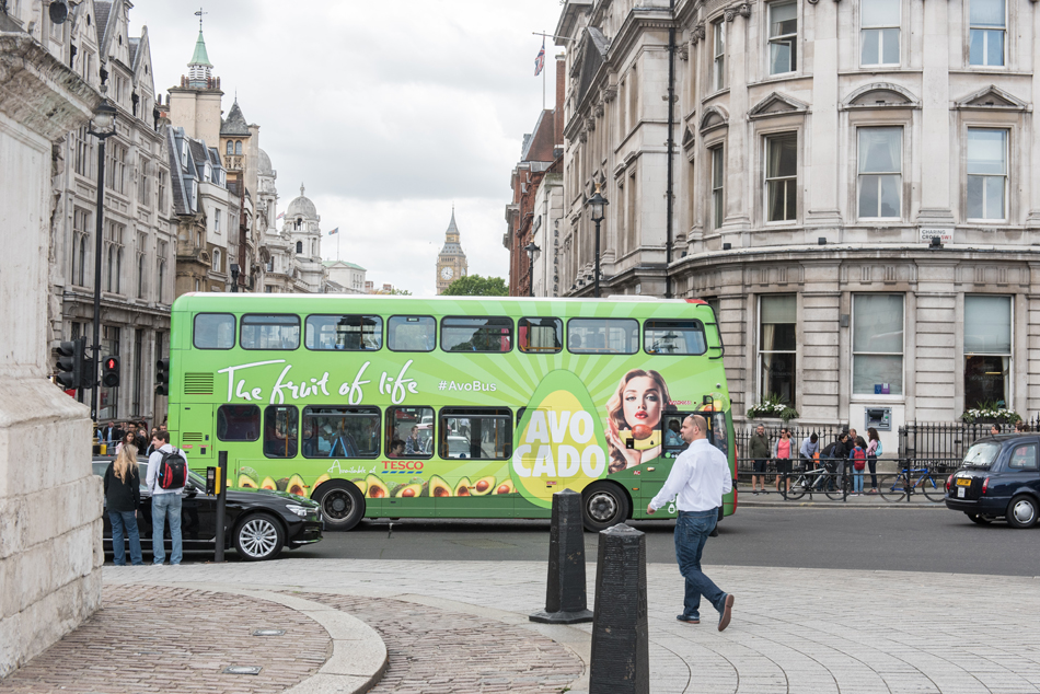 Avobus Full Bus Wrap London