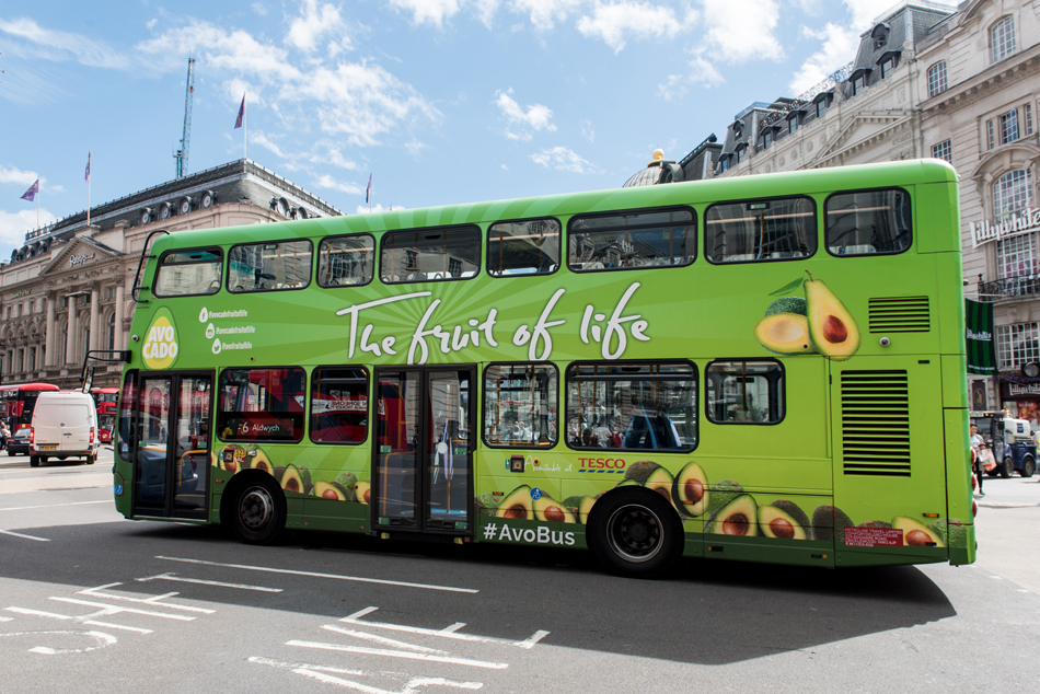 London Bus Advertising